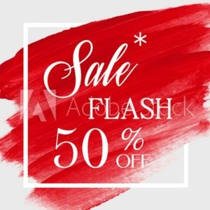 FLASH SALE !!!  Shop before it's all gone!!!